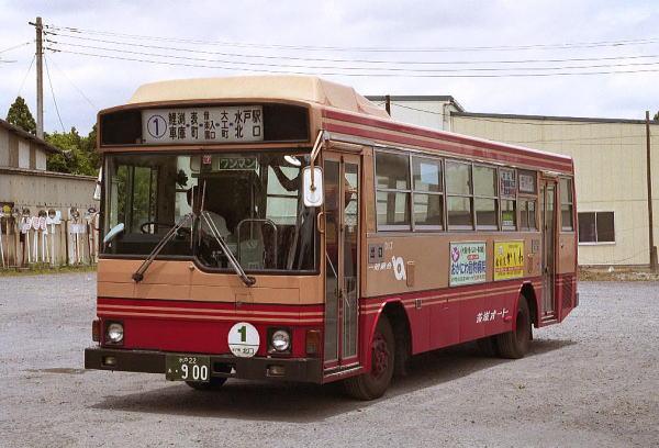 茨城オート 全国の路線バス 車両資料館